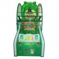 GAME MINI BASKETBALL WITH COIN MECHANISM AND DISPENSER TICKET DIM: CM. 84 X 150 X 182 (H)