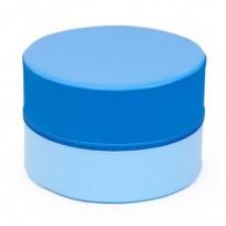 PUFF SOFT ROUND SUN BLUE DIM CM. DIAM 45x30 (H)