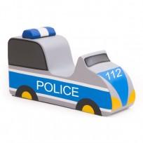 CHAIR SOFT POLICE CAR NV CM. 95x30x45 (H)