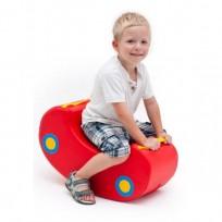 ROCKING CAR DIM CM. 54 X 25 X 30 (H) 19 (H SEAT)