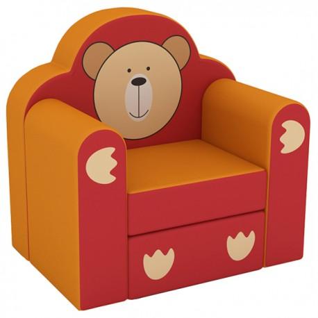CHAIR DELUXE TEDDY BEAR CM. 60x42x58 (H)