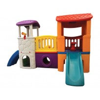 FORT WITH A SLIDE, LERA CM. 300 X 178 X 170 (H)