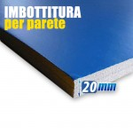 PANEL SHOCKPROOF WALL CM. 114 x 200 x 20 mm (SP)