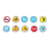 SET TRAFFIC SIGNS SOFT CM 35x3 (h)