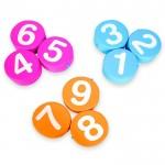 SET 9 NUMERI SOFT CM. 30x8 (h)