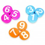 SET OF 9 NUMBERS SOFT CM. 30x8 (h)