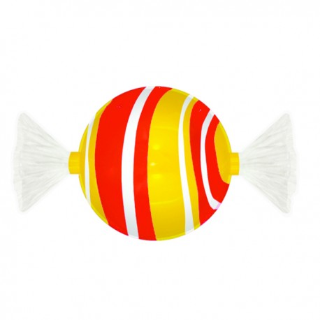 BONBON YELLOW/RED CM. 40x72x40 (H)