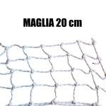 NETZWERK VON HAND GESTRICKT CM. 20 X 20