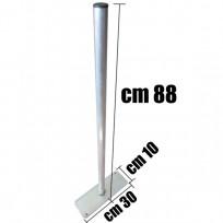 PALO IN METALLO STACCIONATA CM. 30x10x88 (H)