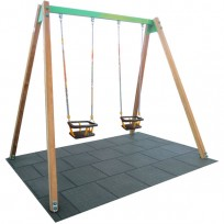 SWING 2 PT BST MT. 1.9 X 3 X 2.3 (H)