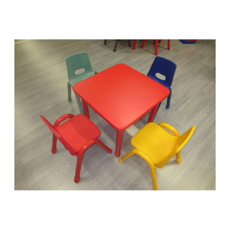 Sedute In Plastica Per Sedie.Sedia Bambini Seduta In Plastica Piedi In Metallo Cm 30 X 38 X 60