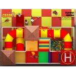 PLAYGROUND PLAY052T NIKO CM 720 x 490 x 300 (H)
