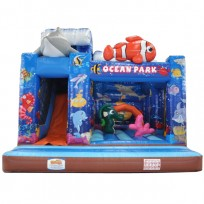 PERCORSO WATER SPLASH MT. 5 X 6 X 5 (H)