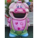 BIN FANTASY PIG CM. 80x80x130 (H)