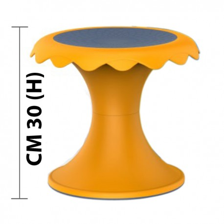 SGABELLO FLOWER YU DIAM CM. 33 X 30 (H)