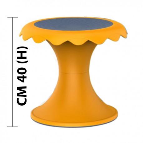 SGABELLO FLOWER YU DIAM CM. 33 X 40 (H)