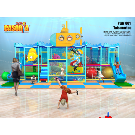 PLAYGROUND PLAY001 TAIS CM 720 X 400 X 240 (H)