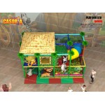 PLAYGROUND PLAY008 STD CM 480 X 240 X 270 (H)