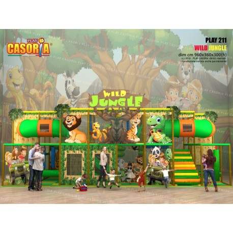 PLAYGROUND PLAY211 JUNGLA CM 960 x 360 x 300 (H)
