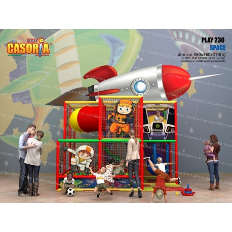 PLAYGROUND PLAY230 CM 360 X 360 X 270 (H)
