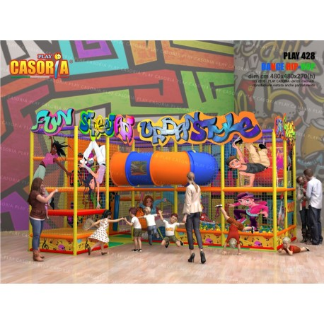 Playground Play428 cm 480x480x270 (h)