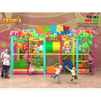 PLAYGROUND PLAY116-L COMPATTO CM 600 X 240 X 270 (H)