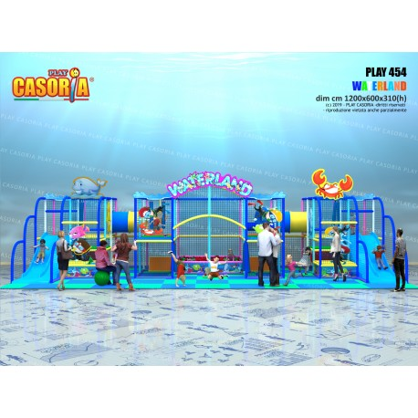 Playground play454 cm 1200 x 600 x 310 (h)