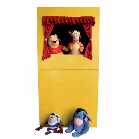 THEATRE PUPPETS IN WOOD CM. 80x40x160 (H)