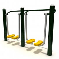FITNESS DOUBLE AIR WALKER DIM CM. 201 X 52 X 125 (H)