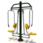 FITNESS CHEST PRESS  DIM CM. 173 X 75 X 220 (H)