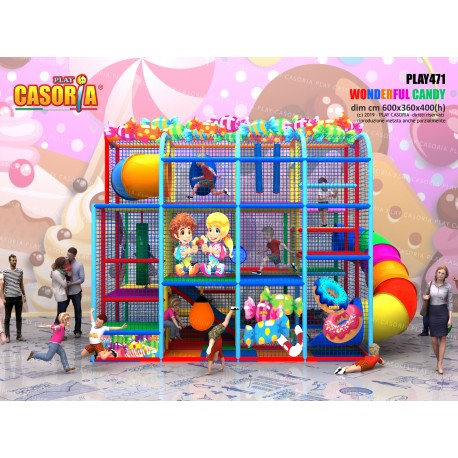 Playground play471 cm 600 x 360 x 400 (h)