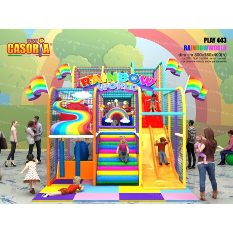 Playground play443 cm 800 x 360 x 400 (h)