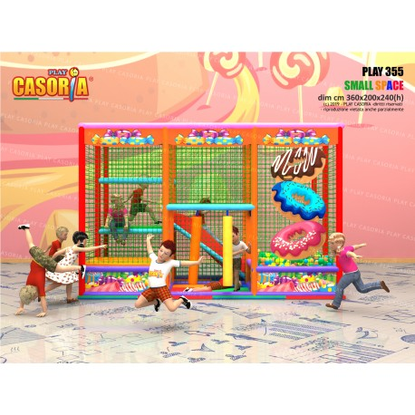 Playground play355 cm 360 x 200 x 240 (h)