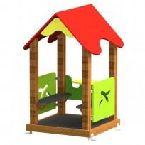 CASETTA CHILDREN PLAY FACILITY DIM CM. 91 X 91 X 161 (H)