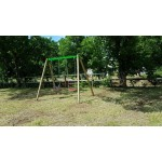SWING 2 SEATS 1 SEAT FRAME, 1 SEAT TABLET MT. 1.9 X 3 X 2.3 (H)