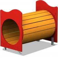 TUNNEL IN LISTONI DI LEGNO DI PINO  CM. 61 X 99 X 89 (H)