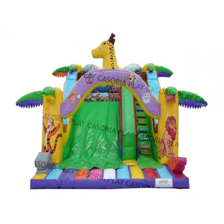 INFLATABLE SLIDE JUNGLE MT. 4 X 6 X 4.3 (H)