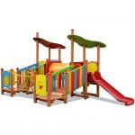 CASTELLO NAT BABY IN LEGNO TIME TO PLAY DIM CM. 459 X 266 X 247 (H)