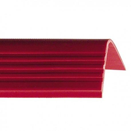 PROTEZIONE PARAGRADINO IN PVC FLESSIBILE MM 40X55 ROTOLO MT 10