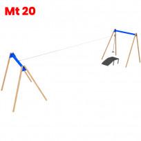 TELEFERICA IN METALLO CM  2000 X 400 X 325 (H)