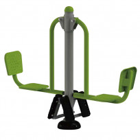 FITNESS DOUBLE LEG PRESS DIM CM. 191 X 50 X 155 (H)
