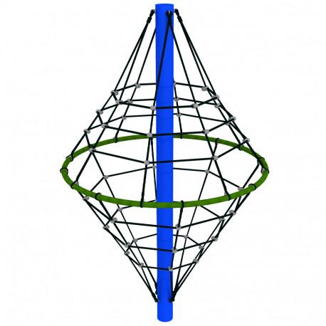 ARRAMPICATA DIAMANTE DIM CM. 186 X 186 X 270 (H)