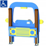 GIOCO PANNELLO CAR 122 X 15 X 130 CM (H)