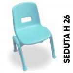 SEDIA BAMBINI BILLY DIM CM 34X35X49 (H) 26 (H SEDUTA)