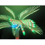 PALM TREE LIGHT COCONUT MULTICOLOR Ø MT. 2 X 3 (H)