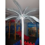 PALM TREE LIGHT COCONUT MULTICOLOR Ø MT. 2 X 3 (H)
