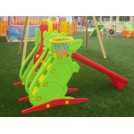 SLIDE WITH SWING SET TO CM. 198 X 115 X 122 (H)