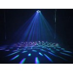 LED MOON LIGHT 6 LENTI  - 20W - RGB