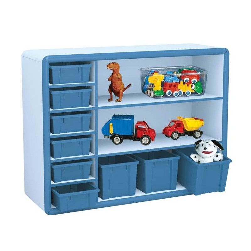 Mobile rever multiuso cm 120x40x87 h play casoria for Box bimbi ikea