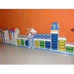 MOBILE COMPOSIZIONE SHOPPING KID CM. 538x40x134 (H)